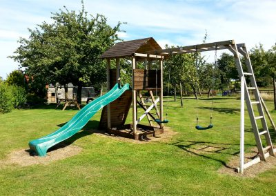 The ever-popular climbing frame